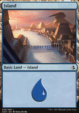 Amonkhet Foil: Island (258 A)