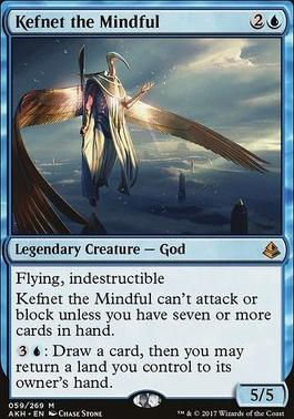 Amonkhet Foil: Kefnet the Mindful