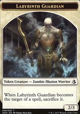 Amonkhet: Labyrinth Guardian Token
