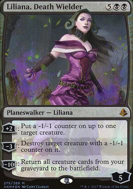 Amonkhet: Liliana, Death Wielder (Foil - Planeswalker Deck)