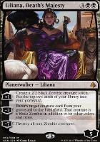 Amonkhet Foil: Liliana, Death's Majesty