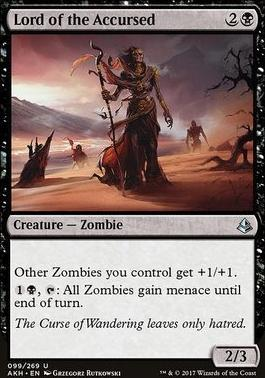 Amonkhet Foil: Lord of the Accursed