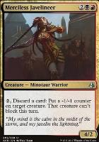 Amonkhet Foil: Merciless Javelineer