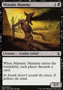 Amonkhet Foil: Miasmic Mummy