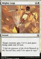 Amonkhet Foil: Mighty Leap