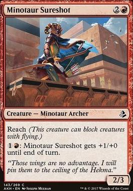 Amonkhet: Minotaur Sureshot