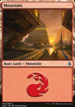 Amonkhet: Mountain (265 B)