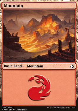 Amonkhet Foil: Mountain (266 C)