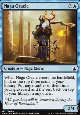 Amonkhet Foil: Naga Oracle