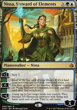 Amonkhet: Nissa, Steward of Elements