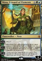 Amonkhet Foil: Nissa, Steward of Elements