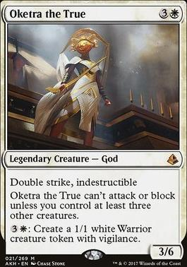 Amonkhet Foil: Oketra the True