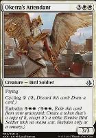 Amonkhet Foil: Oketra's Attendant