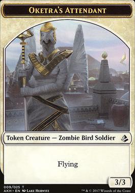 Amonkhet: Oketra's Attendant Token