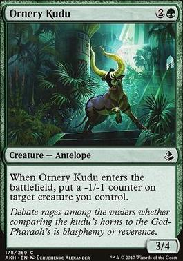 Amonkhet: Ornery Kudu