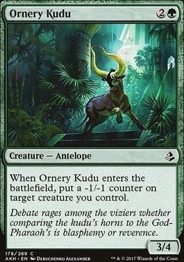 Amonkhet Foil: Ornery Kudu