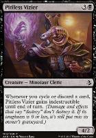 Amonkhet Foil: Pitiless Vizier