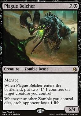 Amonkhet: Plague Belcher