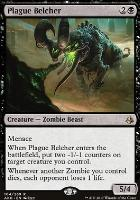 Amonkhet Foil: Plague Belcher