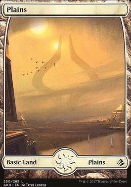 Amonkhet Foil: Plains (250)