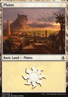 Amonkhet Foil: Plains (256 B)