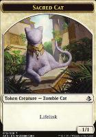 Amonkhet: Sacred Cat Token