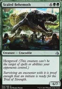 Amonkhet: Scaled Behemoth
