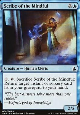 Amonkhet Foil: Scribe of the Mindful