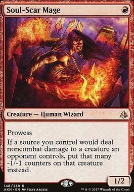 Amonkhet Foil: Soul-Scar Mage