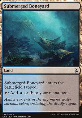 Amonkhet: Submerged Boneyard (Deckbuilder Toolkit)