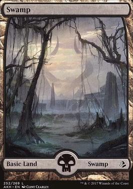 Amonkhet Foil: Swamp (252)