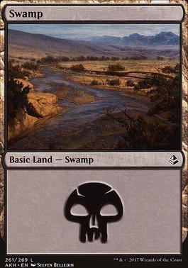 Amonkhet: Swamp (261 A)