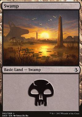 Amonkhet Foil: Swamp (262 B)