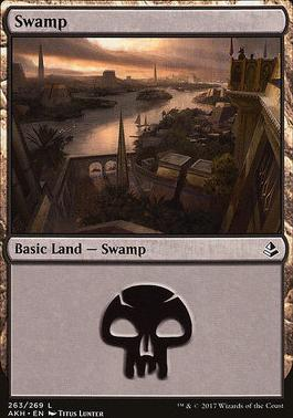 Amonkhet Foil: Swamp (263 C)