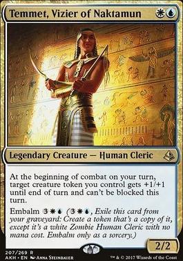 Amonkhet Foil: Temmet, Vizier of Naktamun
