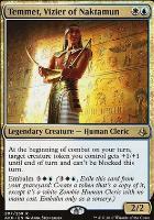 Amonkhet: Temmet, Vizier of Naktamun