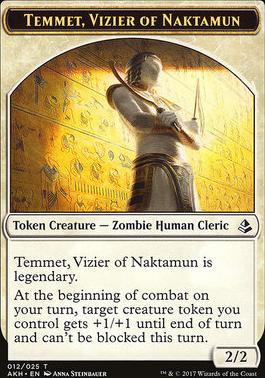 Amonkhet: Temmet, Vizier of Naktamun Token