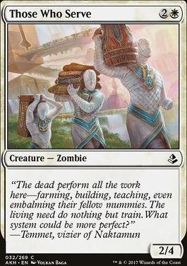 Amonkhet: Those Who Serve