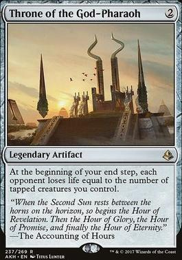Amonkhet Foil: Throne of the God-Pharaoh