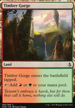 Amonkhet: Timber Gorge (Deckbuilder Toolkit)