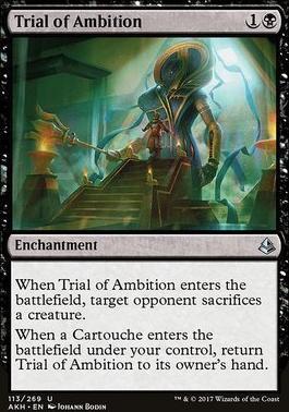 Amonkhet Foil: Trial of Ambition