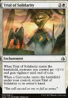 Amonkhet Foil: Trial of Solidarity