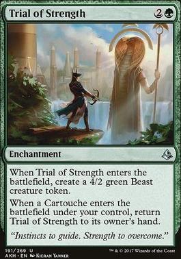Amonkhet Foil: Trial of Strength