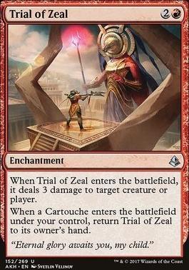 Amonkhet: Trial of Zeal