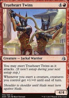 Amonkhet Foil: Trueheart Twins