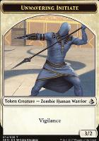 Amonkhet: Unwavering Initiate Token