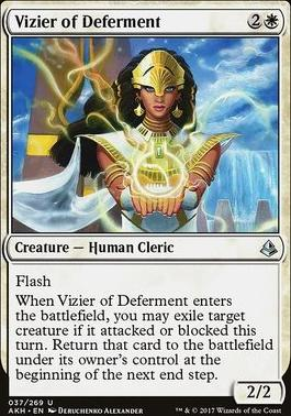 Amonkhet: Vizier of Deferment