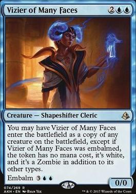 Amonkhet: Vizier of Many Faces