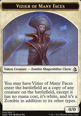 Amonkhet: Vizier of Many Faces Token