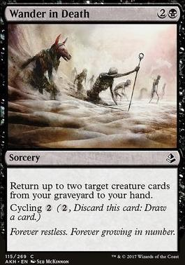 Amonkhet: Wander in Death